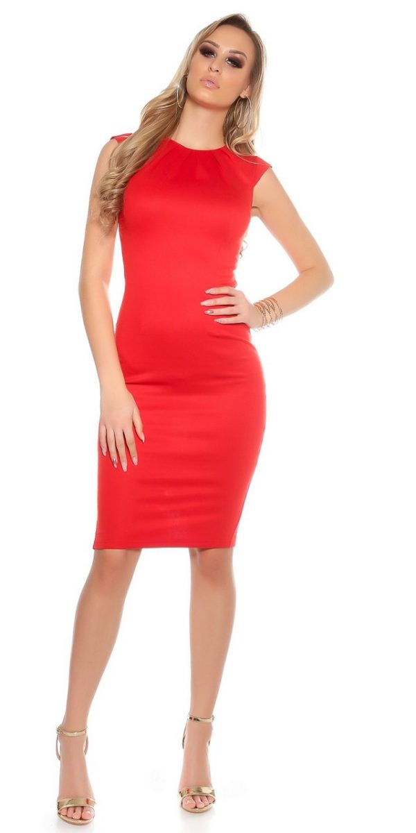 Estélyi ruha gs98243 - piros