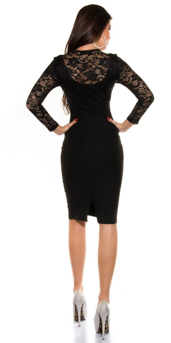 Estélyi ruha gs98547 - fekete