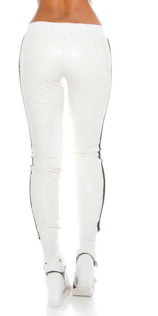 Női nadrág gs23142 - fehér-fekete