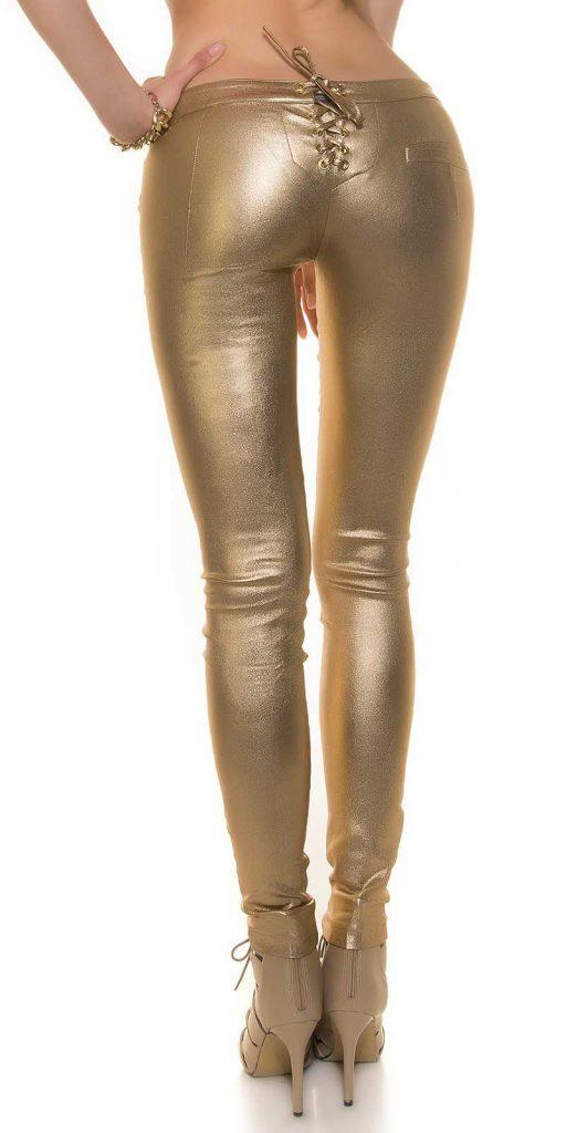 Női nadrág gs32395 - arany