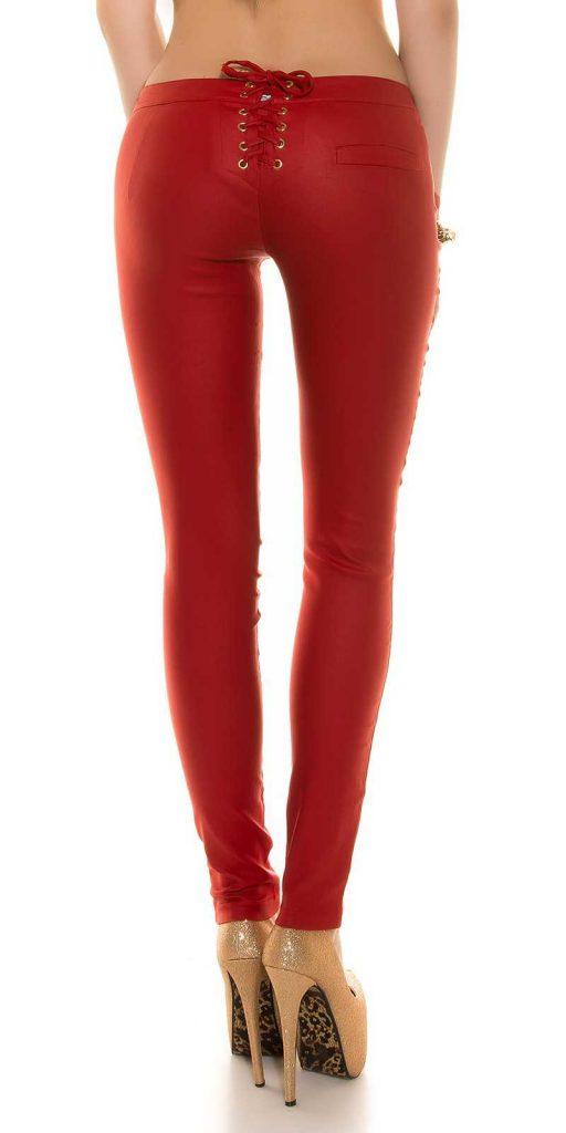 Női nadrág gs32395 - piros
