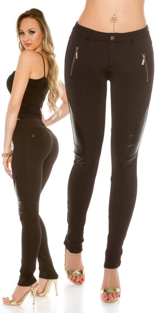Női nadrág gs37391 - fekete