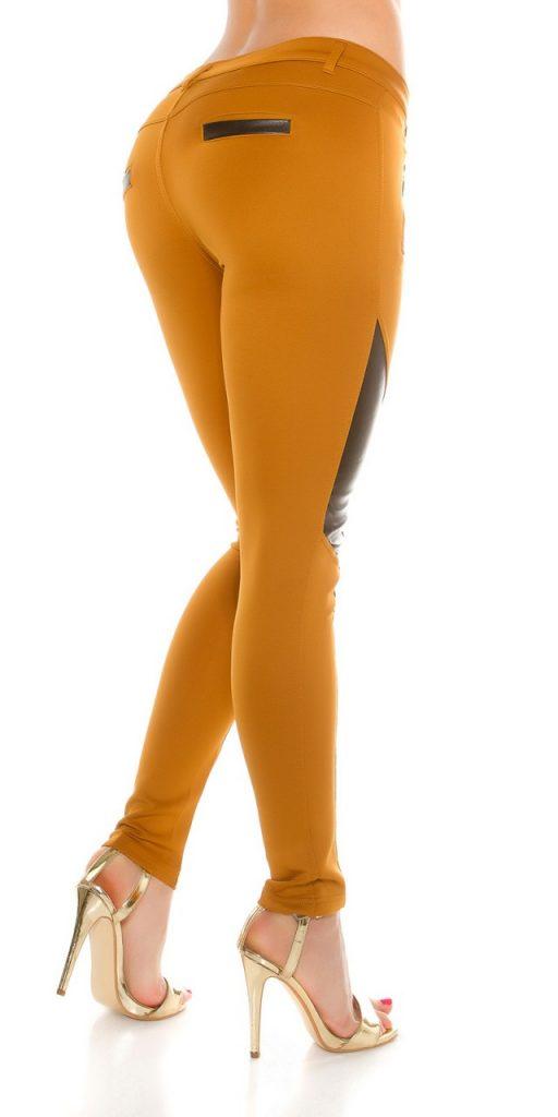 Női nadrág gs37391 - mustár