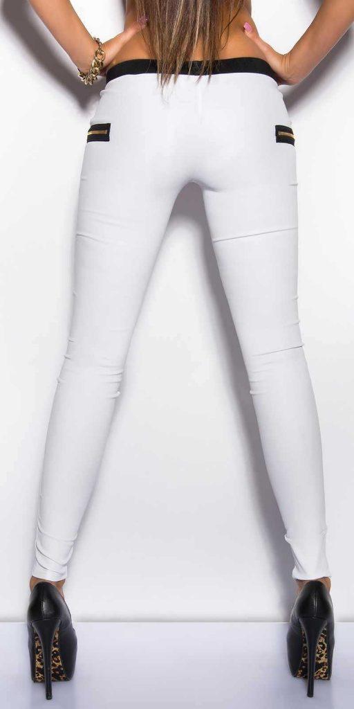 Női nadrág gs38049 - fehér