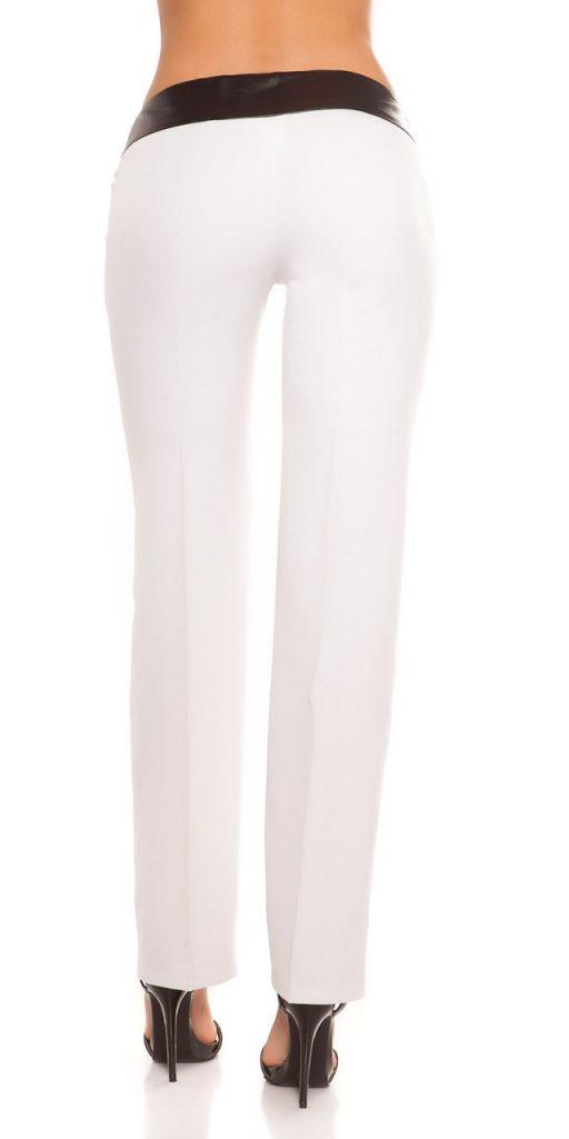 Női nadrág gs49321 - fehér