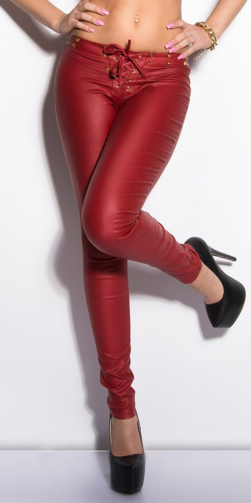 Női nadrág gs63552 - bordó