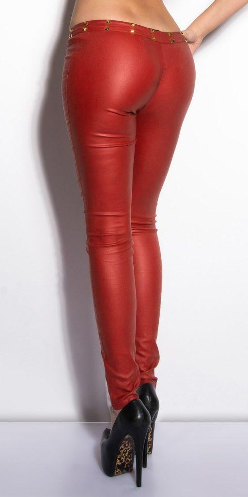 Női nadrág gs63552 - piros