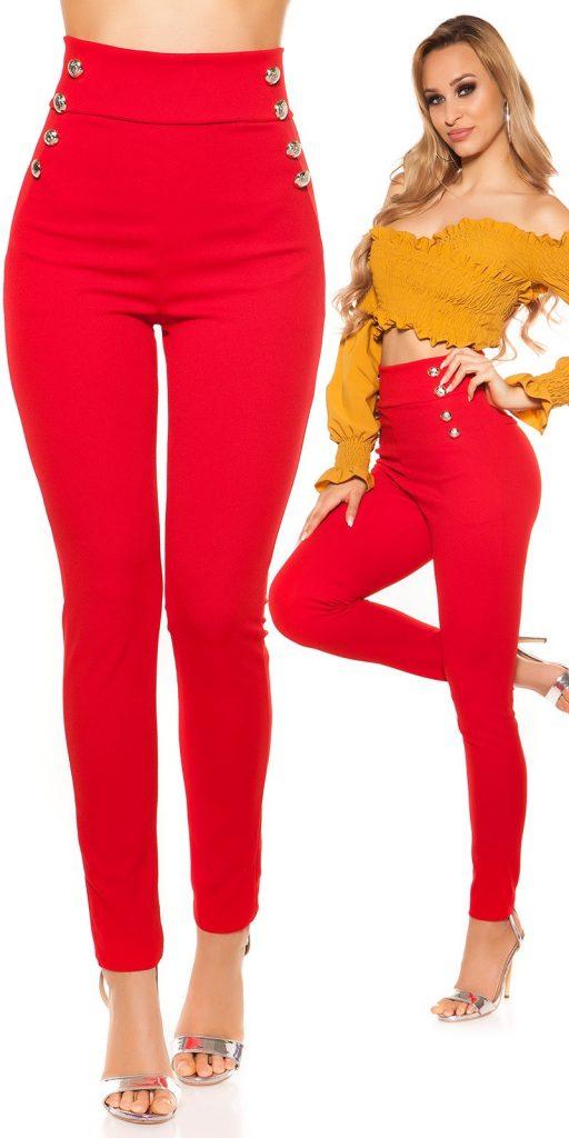 Női nadrág gs71176 - piros