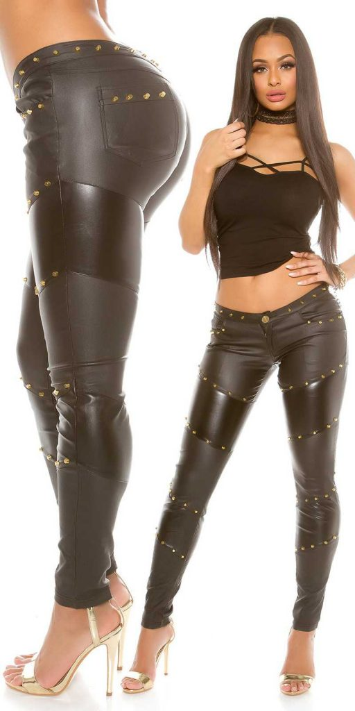 Női nadrág gs71446 - fekete