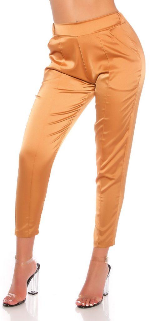 Női nadrág gs77809 - karamell