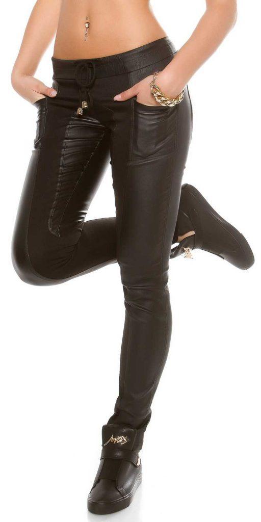 Női nadrág gs85586 - fekete