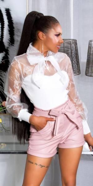 Női nadrág gs96680 - rózsaszín