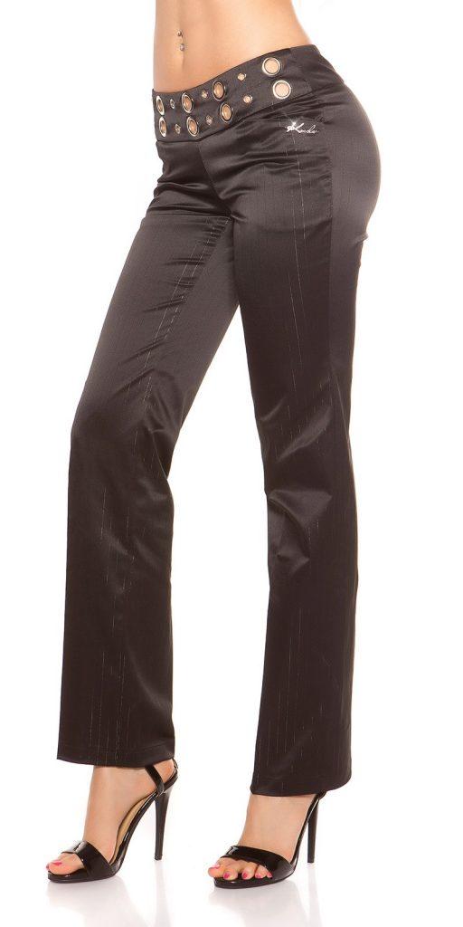 Női nadrág gs99846 - fekete