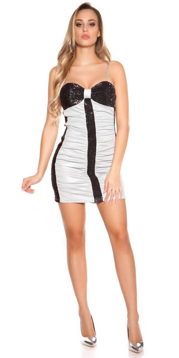 Party ruha gs77436 - szürke