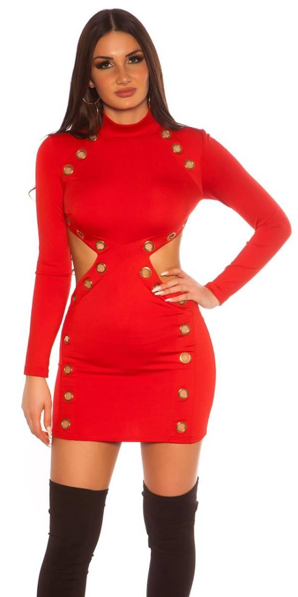 Party ruha gs98548 - piros